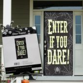 Enter If You Dare Door Cover