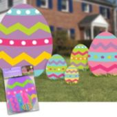 Easter Egg Lawn Decorations - 5 Pack