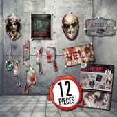 Haunted Asylum Cutouts – 12 Pack