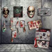 Haunted Asylum Cutouts-12 Pack
