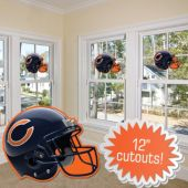 Chicago Bears Helmet Cutout