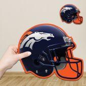 Denver Broncos Helmet Cutout