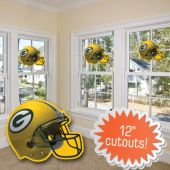 Green Bay Packers Helmet Cutout