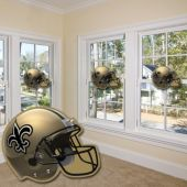 New Orleans Saints Helmet Cutout