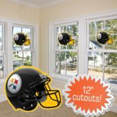 Pittsburgh Steelers Helmet Cutout