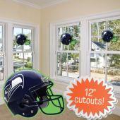 Seattle Seahawks Helmet Cutout