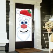 Santa Face Door Cover