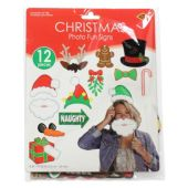 Merry Christmas Photo Booth Prop Kit