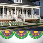 Mardi Gras Bunting Garland Decoration