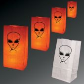 Alien Luminary Bags-50 Pack
