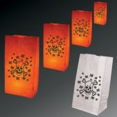 Skull & Crossbones Luminary Bags-50 Per Unit