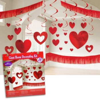 How to throw a valentine s day party for your classroom for Valentines room decor