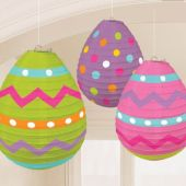 "Easter Egg Lanterns-9 1/2"" - 3 Pack"