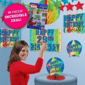Celebrate Birthdays Add an Age Decorating Kit