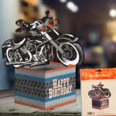 Motorcycle Centerpiece- 10""