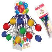 "Balloon Blast Happy Birthday Centerpiece - 14 1/2"""