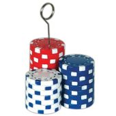 Poker Chips Balloon Weight
