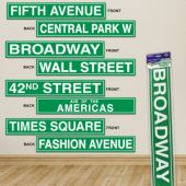 New York Streets Cutouts-4 Per Unit