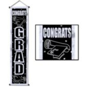 Congrats Grad Door Scroll Decoration