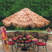 Raffia Umbrella Cover