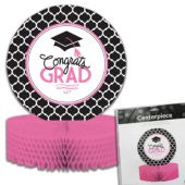 Congrats Grad Pink Centerpiece