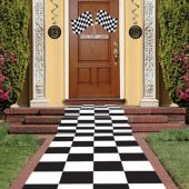 Checkered Floor Runner
