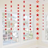 Red Star Stringer Decoration