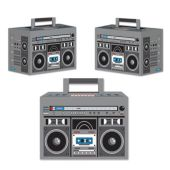 80's Boom Box Favor Boxes - 3 Pack