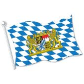 Bavarian Flag Cutout