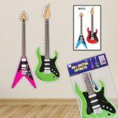 80's Guitar Cutouts - 2 Per Unit