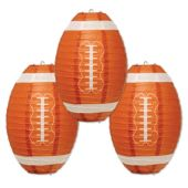 "Football Paper Lanterns-11""-3 Pack"