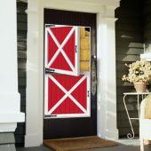 Barn Door Door Cover