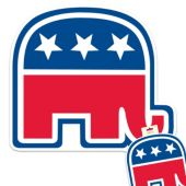 Republican Cutout Decoration