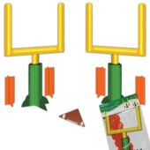 Football Goal Post Centerpieces - 1 Pair