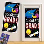 Colorful Congrats Grad Door Cover