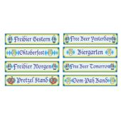 Oktoberfest Sign Cutouts-4 Per Unit