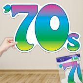 70's Cutout Decoration