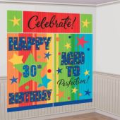 Celebrate Birthday Wall Decorating Kit
