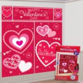 Valentine's Day Wall Decorating Kit