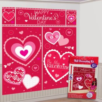 Valentine 39 S Day Wall Decorating Kit Windy City Novelties