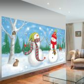 SNOWMAN SCENE DECORATION