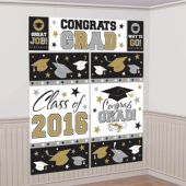 2016 Congrats Grad Wall Decorating Kit