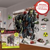 Zombie Scene Setter Wall Decorating Kit