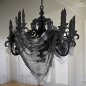 Haunted House Chandelier