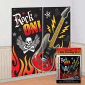 Rock On Scene Setter Wall Decorating Kit