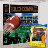Football Wall Decorating Kit
