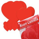Heart Cutout Value Pack -20 Per Unit