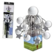 Golf Ball Cascade Centerpiece- 12 1/2""