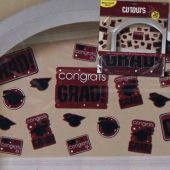 Maroon Graduation Cutouts-30 Per Unit