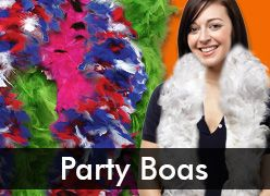 Feather Party Boas